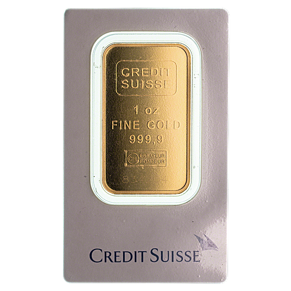 Gold Bar - Various Brands - LBMA - 1 oz