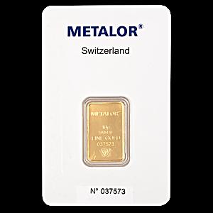 Metalor Gold Bar - 10 g