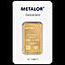 Metalor Gold Bar - 1 oz thumbnail