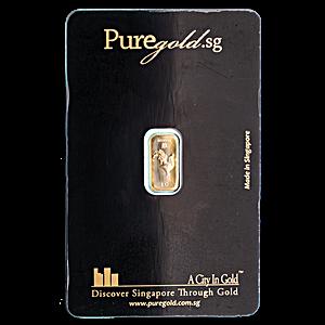 Gold Bar - Various Brands - Non LBMA - 1 g