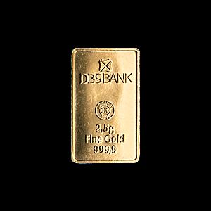 Gold Bar - Various Brands - Non LBMA - 2.5 g
