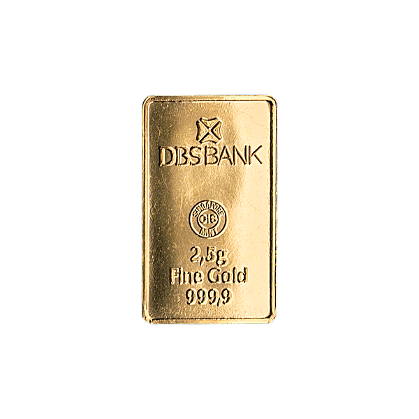 Gold Bar - Various Brands - Non LBMA - 2.5 g