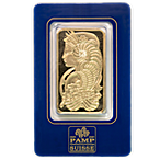 PAMP Gold Bar - Circulated in good condition - 5 Tolas thumbnail