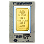 PAMP Gold Bar - 100 g thumbnail