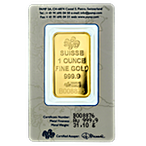 PAMP Gold Bar - Circulated in good condition - 1 oz  thumbnail