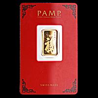 PAMP Gold Bar - True Happiness - 5 g