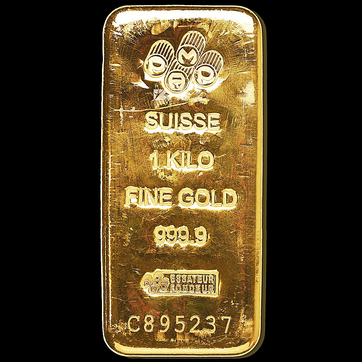 Pamp Gold Bar 1 Kg Swiss Made