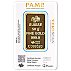 PAMP Gold Bar - 50 g thumbnail