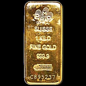 PAMP Gold Bar - 1 kg