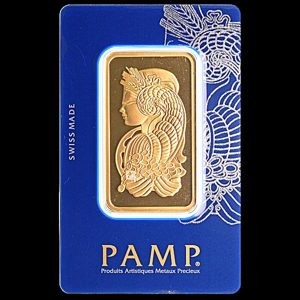 PAMP Gold Bar - 50 g