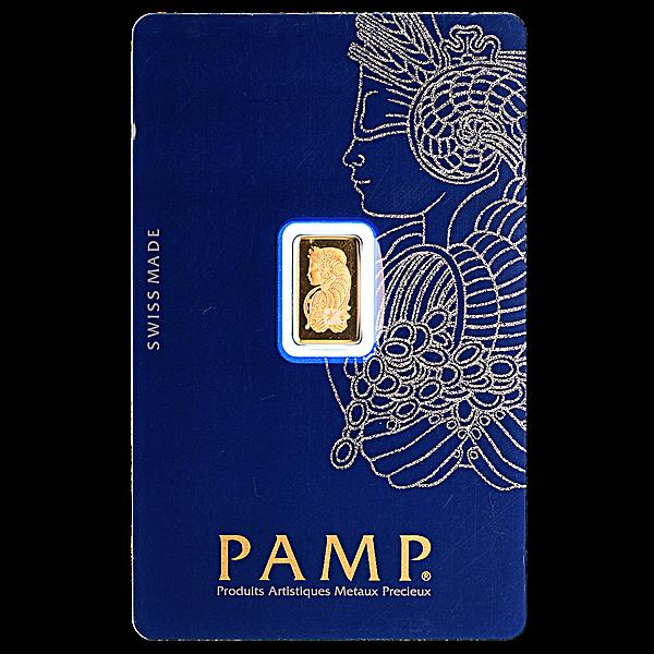 PAMP Gold Bar - 1 g