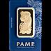 PAMP Gold Bar - 100 g thumbnail