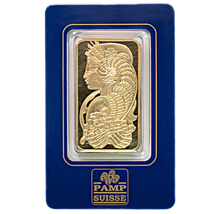 PAMP Gold Bar - Circulated in good condition - 5 Tolas