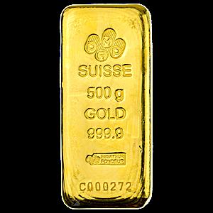 PAMP Gold Bar - 500 g