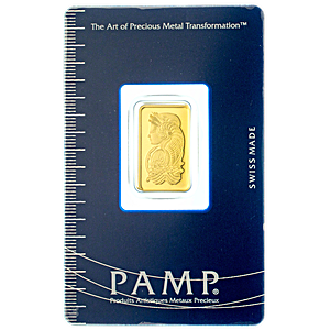 PAMP Gold Bar - Circulated in good condition - 5 g