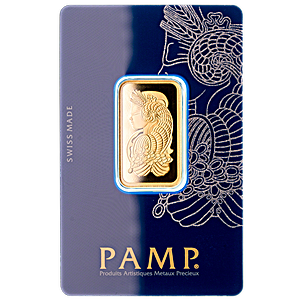 PAMP Gold Bar - Circulated in good condition - 20 g