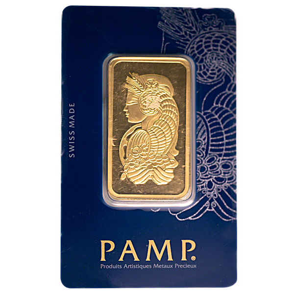 PAMP Gold Bar - Circulated in Good Condition - 3 tola
