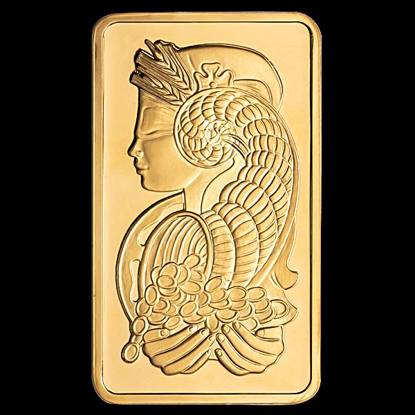 PAMP Gold Bar - 5 oz