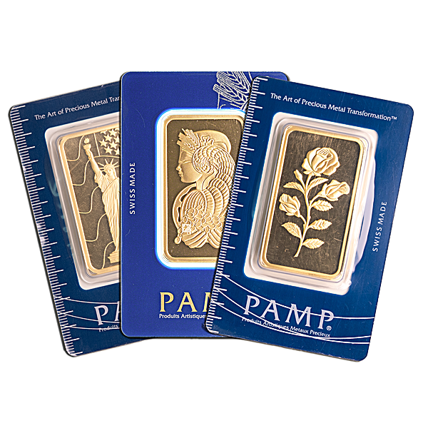 PAMP Gold Bar - Circulated in good condition - 50 g