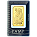 PAMP Gold Bar - Circulated in good condition - 100 g thumbnail