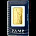 PAMP Gold Bar - Circulated in good condition - 1 oz  thumbnail