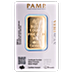 PAMP Gold Bar - 1 oz thumbnail