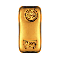 Perth Mint Gold Cast Bars
