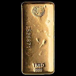 Perth Mint Gold Bar - 1 kg