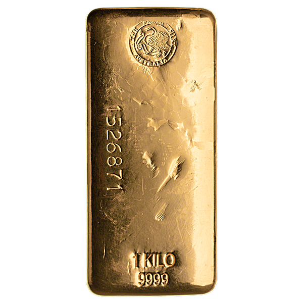 Perth Mint Gold Bar - 1 kg