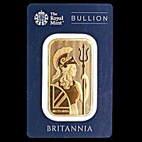 United Kingdom Gold Britannia Bar - 1 oz