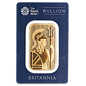 United Kingdom Gold Britannia Bar - 1 oz