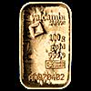 Valcambi Gold Cast Bar - 100 g