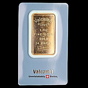 Valcambi Gold Bar - 1 oz