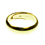 Gold Bullion Ring - Pre-Owned - Perfect Condition - 10 g   thumbnail