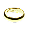 Gold Bullion Ring - 10 gram