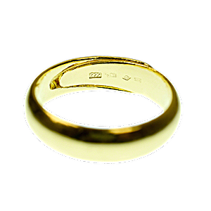 Gold Bullion Ring - 10 g
