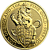 United Kingdom Gold Queen's Beast 2016 - Lion - 1 oz