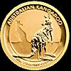 Australian Gold Kangaroo Nugget 2016 - 1/10 oz