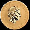 Australian Gold Kangaroo Nugget 2016 - 1/4 oz