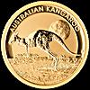 Australian Gold Kangaroo Nugget 2015 - 1/2 oz
