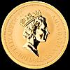 Australian Gold Kangaroo Nugget 1990 - 1 oz