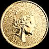 United Kingdom Gold Lunar Rooster 2017 - 1 oz