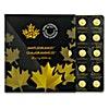 Canadian Gold Maplegram25 2016 - 25 x 1 g