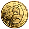 Chinese Gold Panda 1985 - Graded MS 65 by NGC - 1 oz