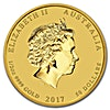 Australian Gold Lunar Series 2017 - Year of the Rooster - 1/2 oz