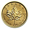Canadian Gold Maple 2017 - 1/10 oz