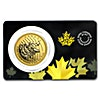 Canadian Gold Roaring Grizzly Bear 2016 - 1 oz