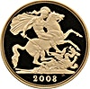 United Kingdom Gold Five Pounds Coin 2008 - Proof - 36.62 g