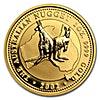 Australian Gold Kangaroo Nugget 2002 - 1 oz