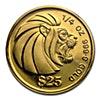 Singapore Gold Lion 1990 - 1/4 oz